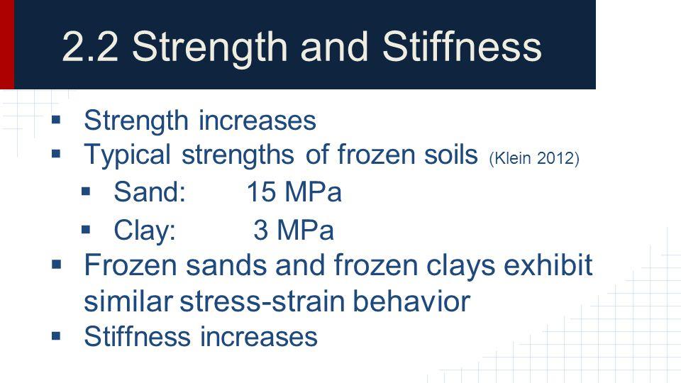 2.2 Strength and Stiffness