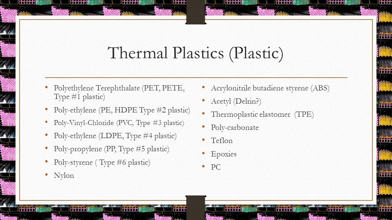 Thermal Plastics (Plastic)