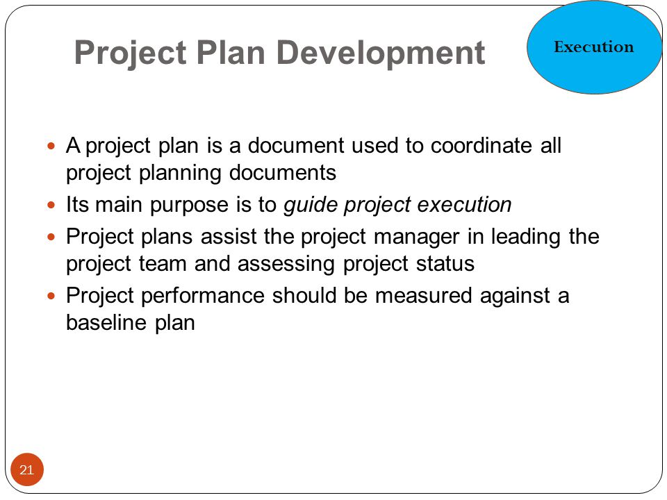 Project Plan Development