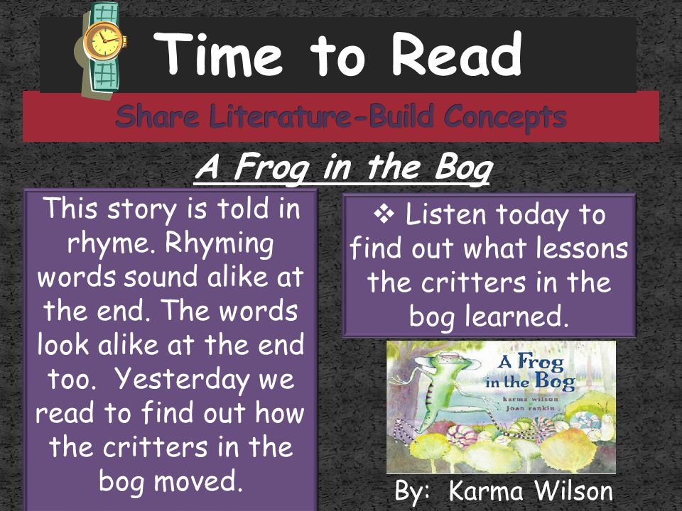 Share Literature-Build Concepts