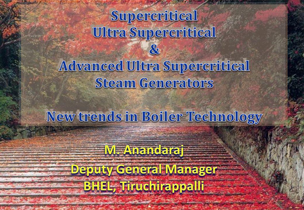 Advanced Ultra Supercritical Steam Generators