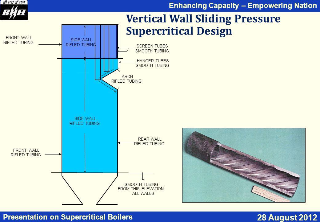 Vertical Wall Sliding Pressure Supercritical Design