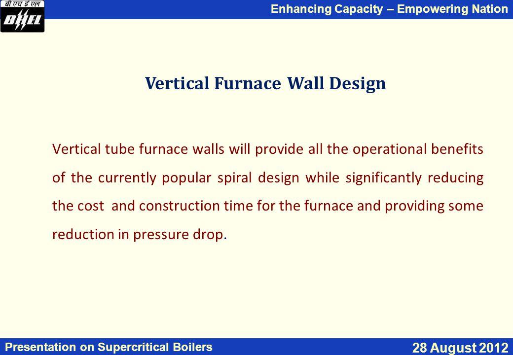 Vertical Furnace Wall Design