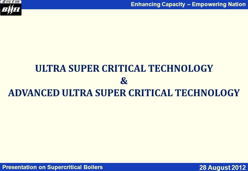 ULTRA SUPER CRITICAL TECHNOLOGY &