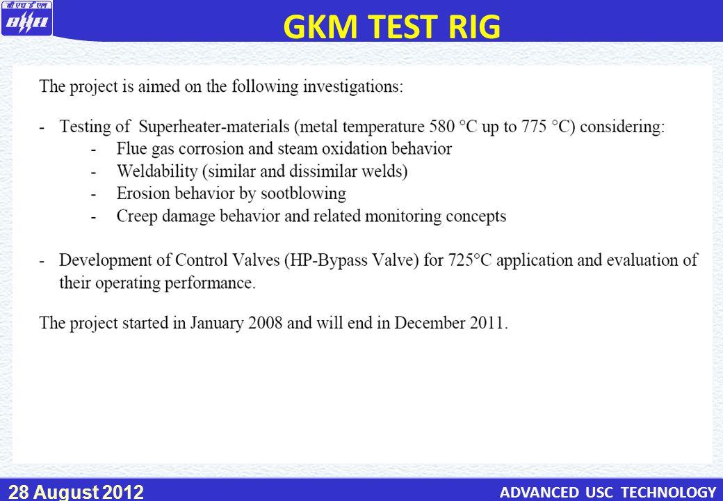 GKM TEST RIG 73