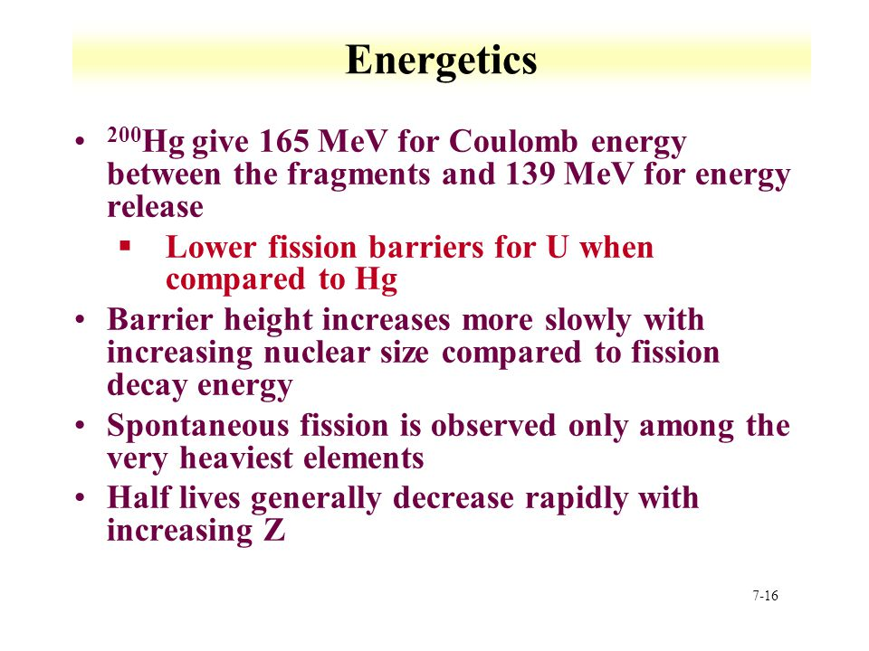 Energetics 200Hg give 165 MeV for Coulomb energy between the fragments and 139 MeV for energy release.