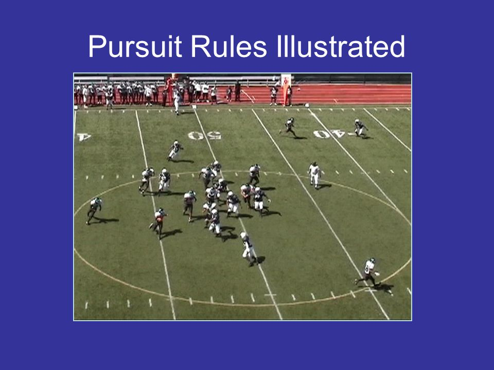 Pursuit Rules Illustrated