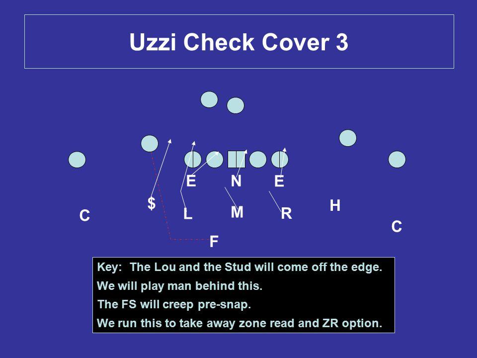 Uzzi Check Cover 3 E N E $ H C L M R C F