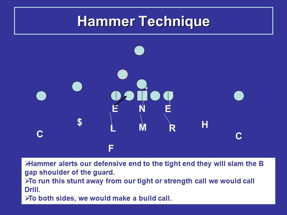 Hammer Technique E N E $ H L M R C C F