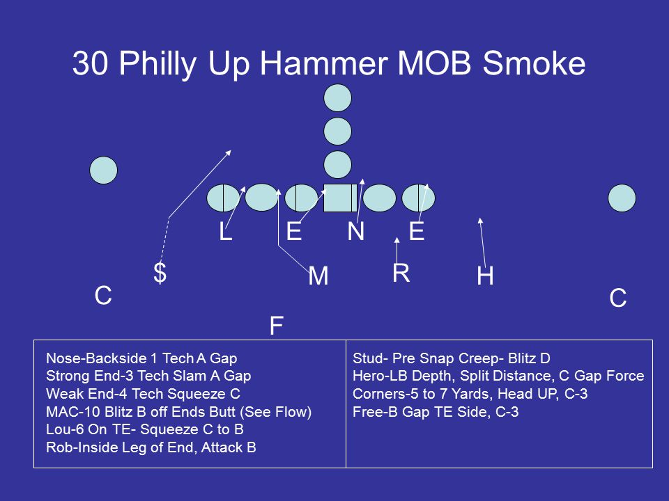 30 Philly Up Hammer MOB Smoke