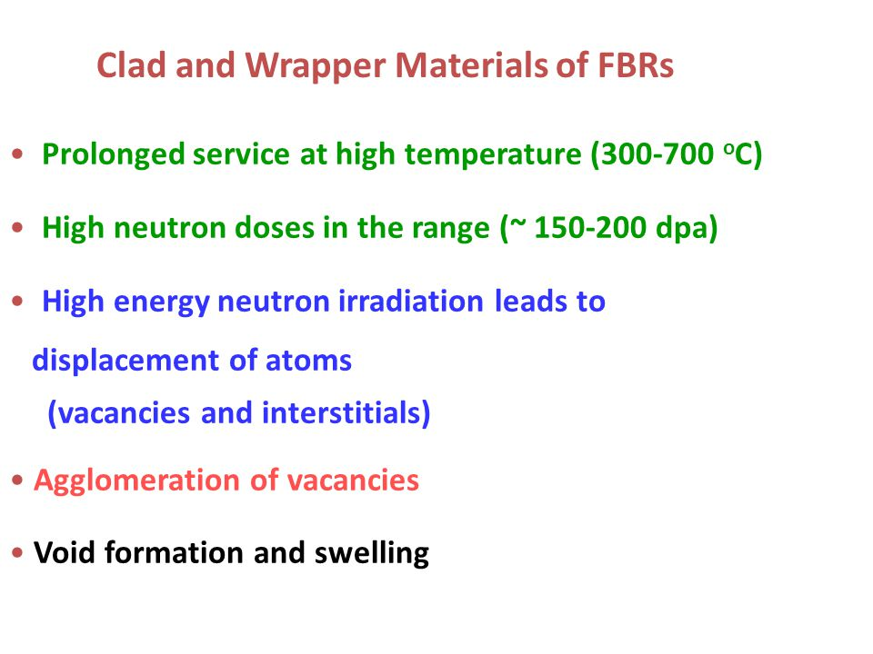 Clad and Wrapper Materials of FBRs