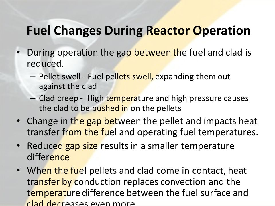 Fuel Changes During Reactor Operation