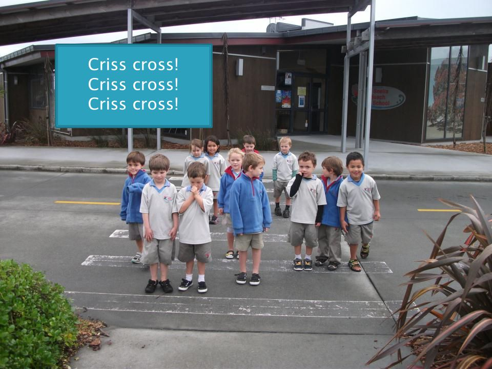 Criss cross!