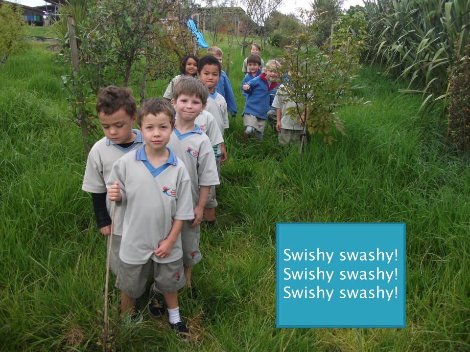 Swishy swashy!