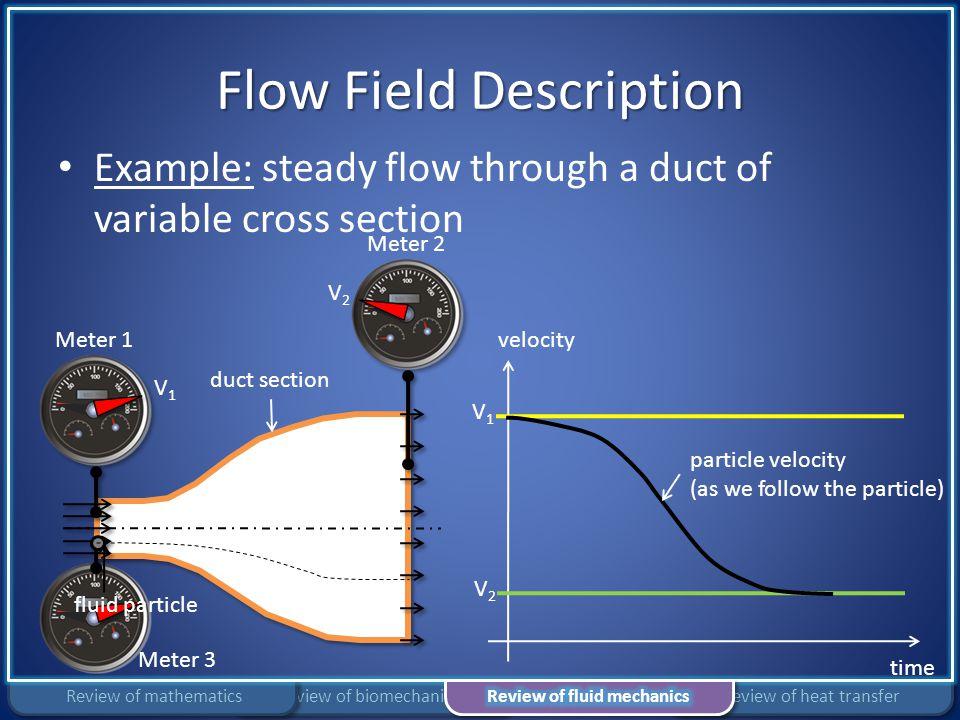 Flow Field Description