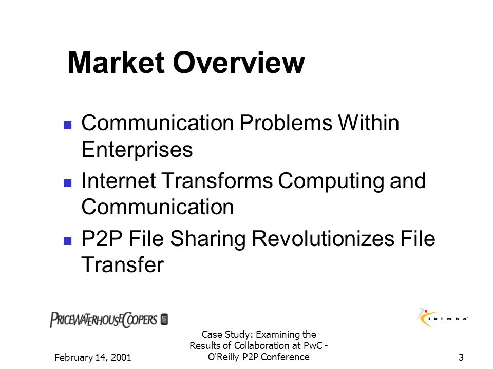 Market Overview Communication Problems Within Enterprises