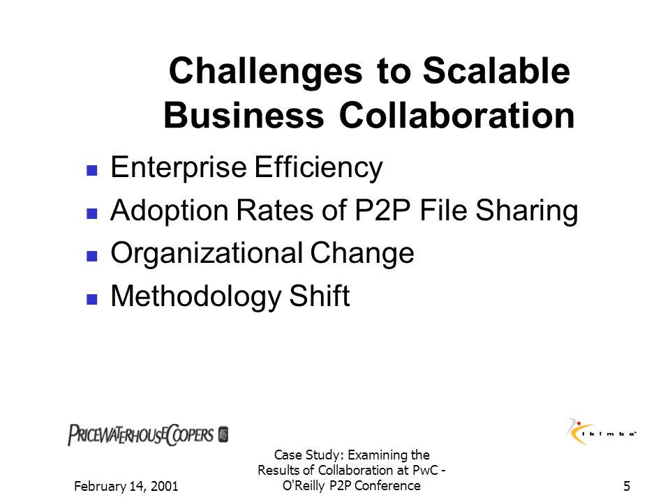 Challenges to Scalable Business Collaboration