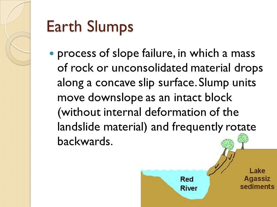 Earth Slumps