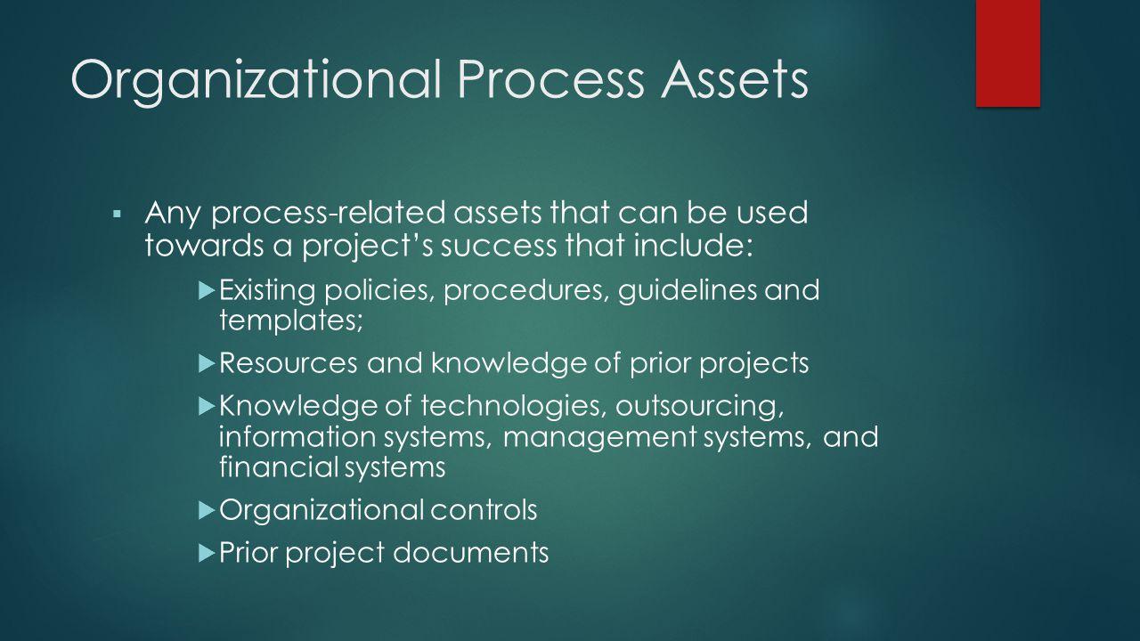 Organizational Process Assets