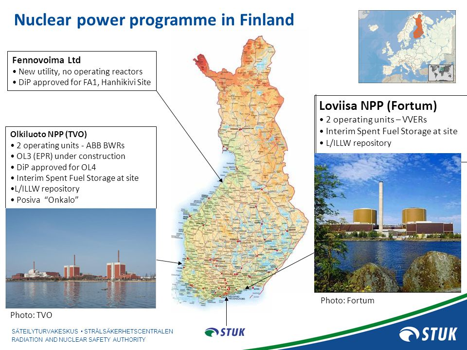 Nuclear power programme in Finland
