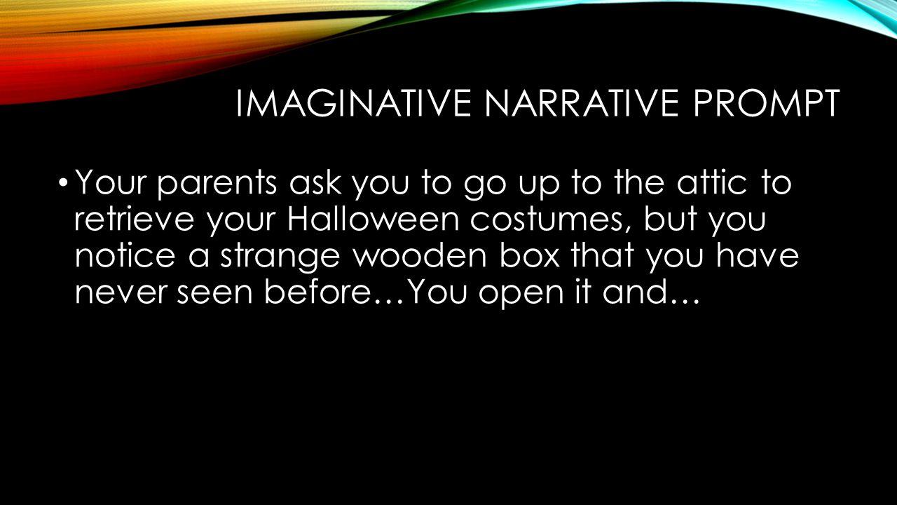 Imaginative Narrative Prompt