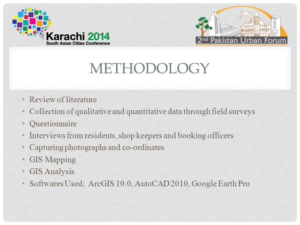 methodology Review of literature
