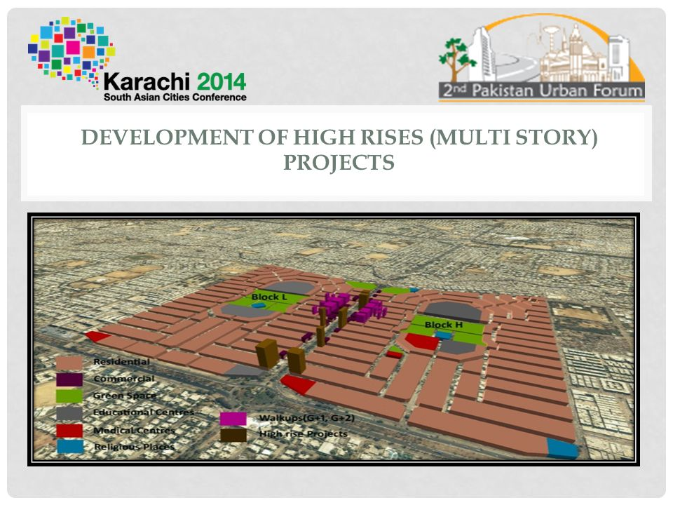 Development of High Rises (Multi Story) Projects