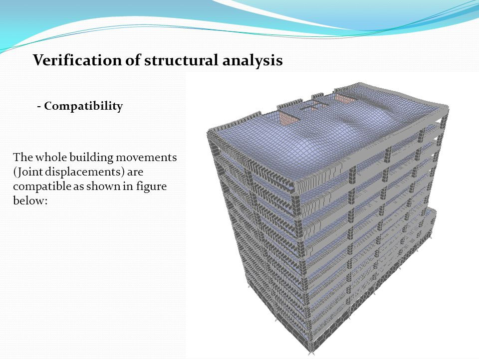 Verification of structural analysis