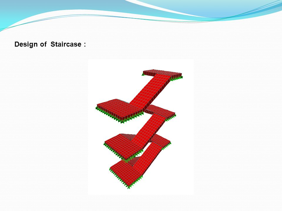 Design of Staircase :