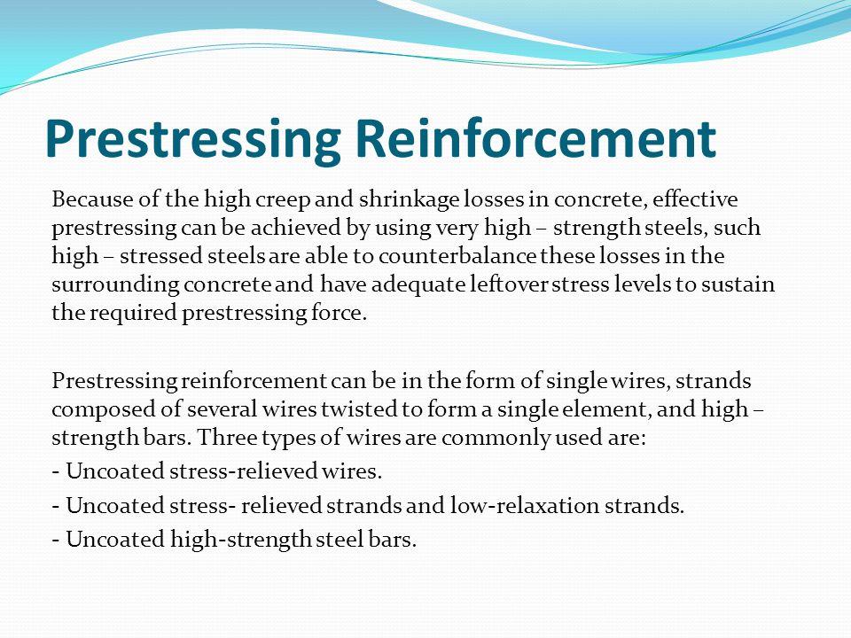 Prestressing Reinforcement
