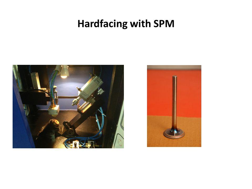 Hardfacing with SPM