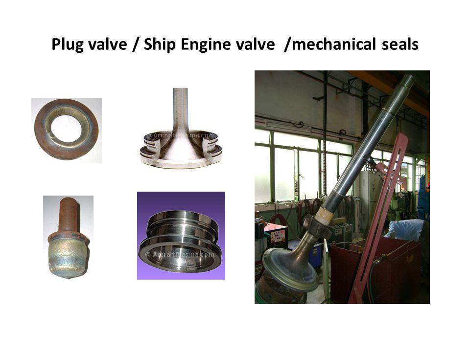 Plug valve / Ship Engine valve /mechanical seals