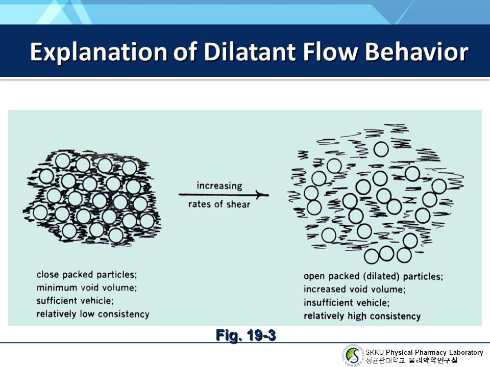 Explanation of Dilatant Flow Behavior