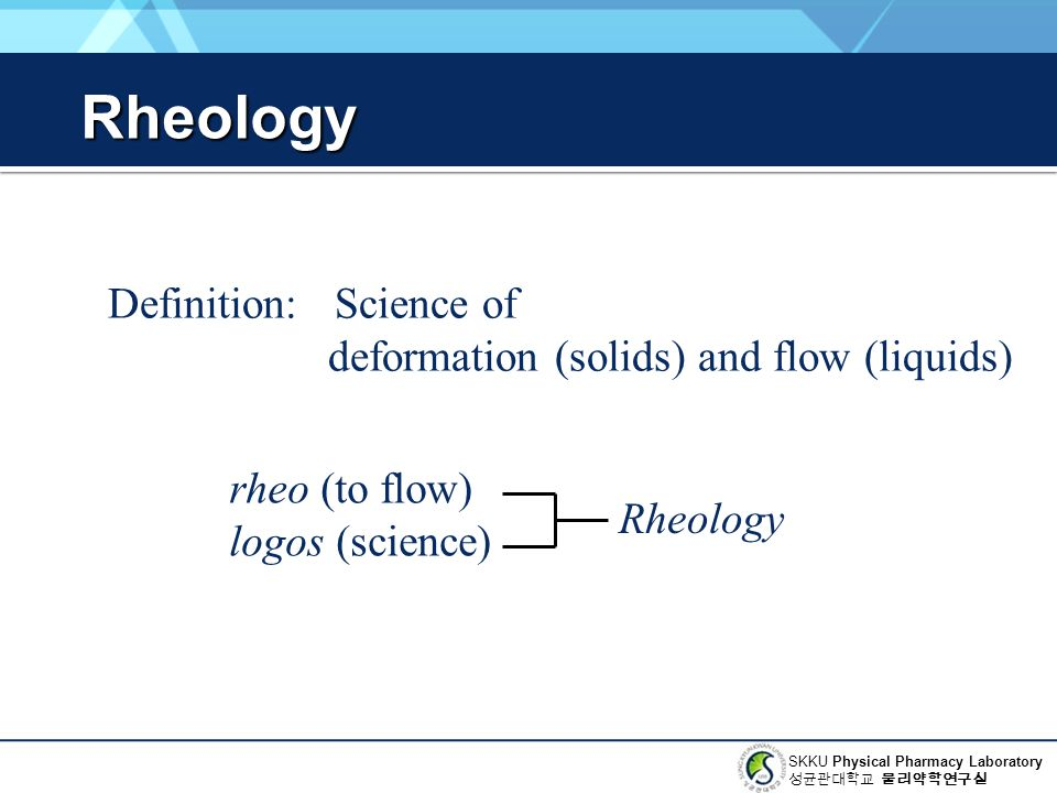 Rheology Definition: Science of