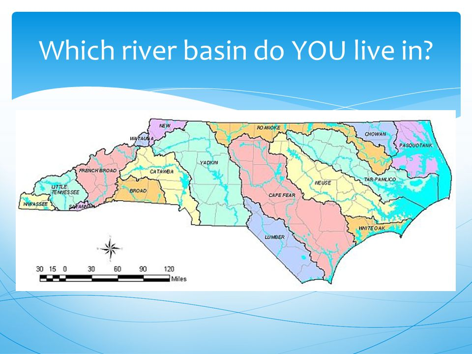 Which river basin do YOU live in
