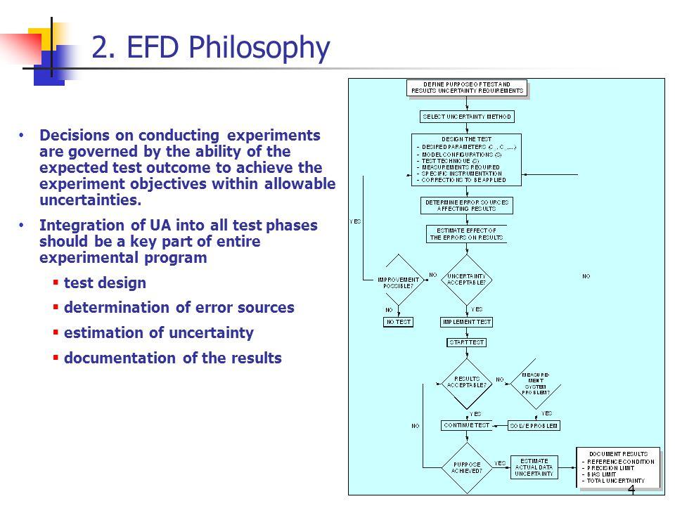 2. EFD Philosophy
