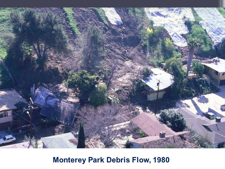 Monterey Park Debris Flow, 1980