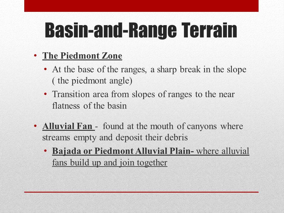 Basin-and-Range Terrain