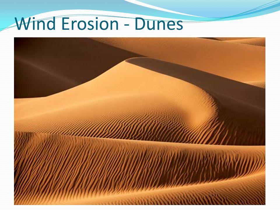 Wind Erosion - Dunes