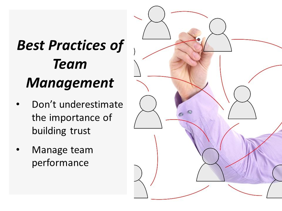 Best Practices of Team Management