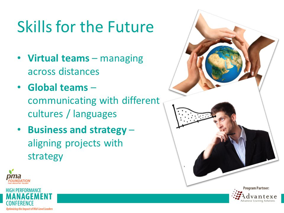 Skills for the Future Virtual teams – managing across distances