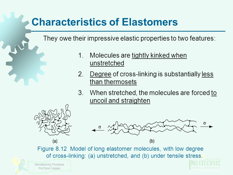 Characteristics of Elastomers