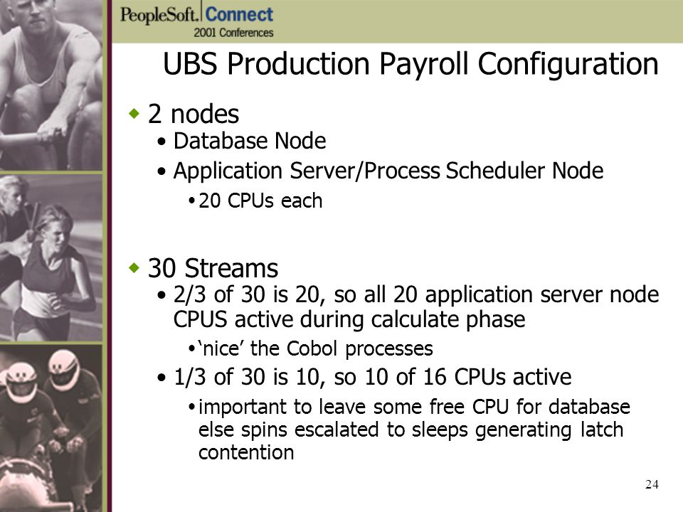 UBS Production Payroll Configuration