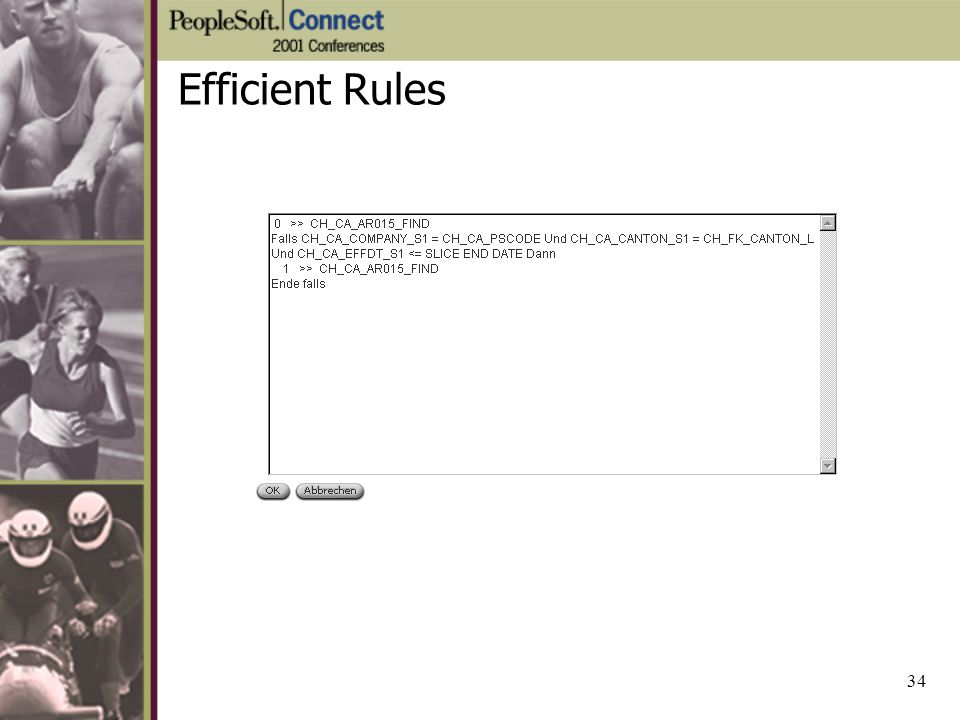 Efficient Rules