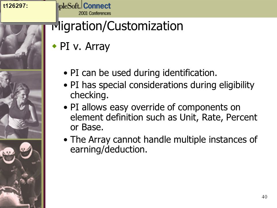 Migration/Customization