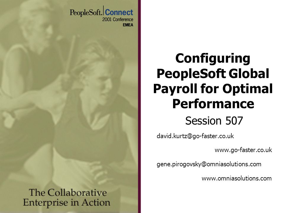 Configuring PeopleSoft Global Payroll for Optimal Performance