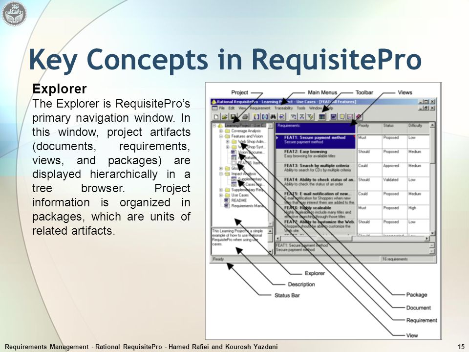 Key Concepts in RequisitePro