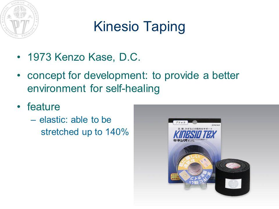 Kinesio Taping 1973 Kenzo Kase, D.C.