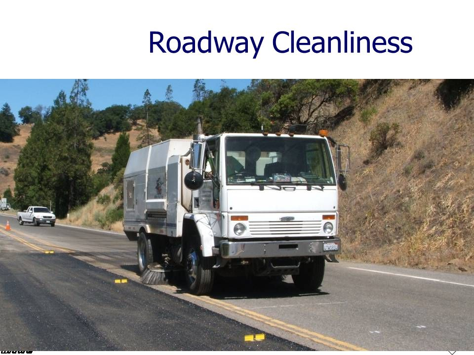 Roadway Cleanliness