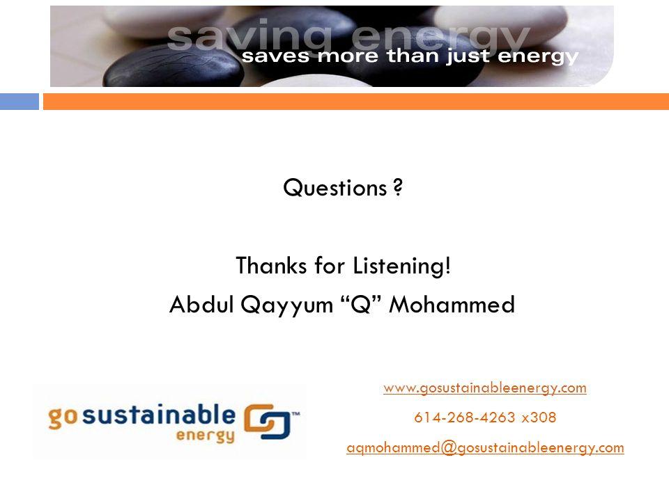 Abdul Qayyum Q Mohammed